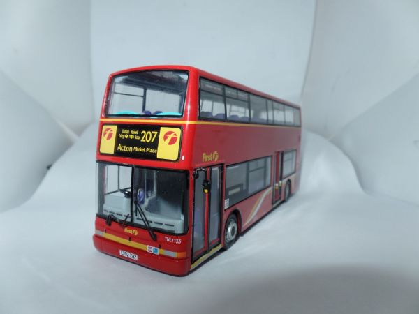 CMNL UKBUS2005 Dennis Trident Plaxton First London Centrewest 207 Acton UB 1 Mirror
